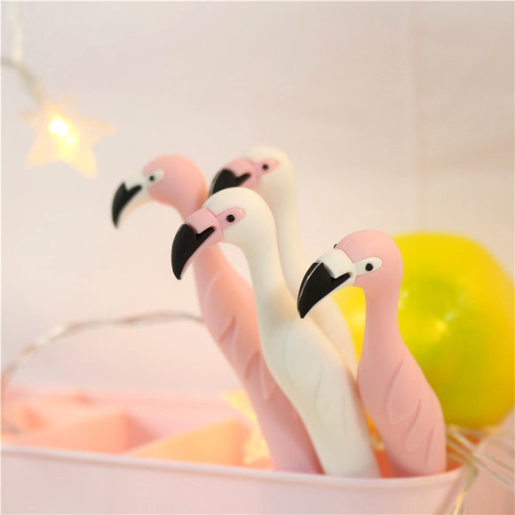 2 Pcs Flamingo Gel Pen