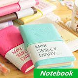 Hard Cover Smile Diary Notebook