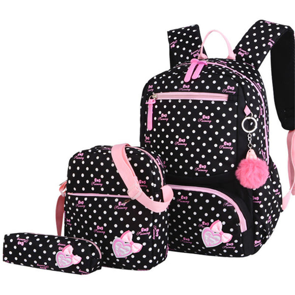 3pcs School Backpack set