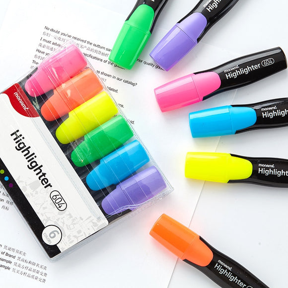pastel highlighters