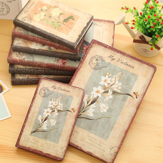 oil painting flower cover notebook