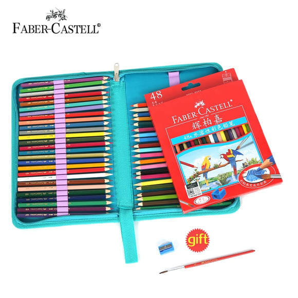 Faber Castell Coloured Pencil Case Set