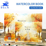 A3/A4/A5 Size Professional Watercolor Paper 20Sheets