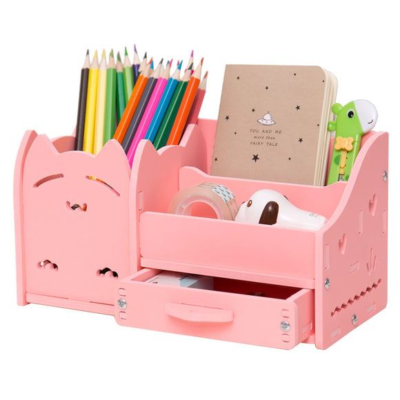 Muiti function desk storage box