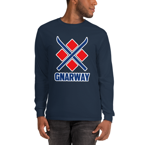 Ski GNARWAY Long Sleeve T-Shirt