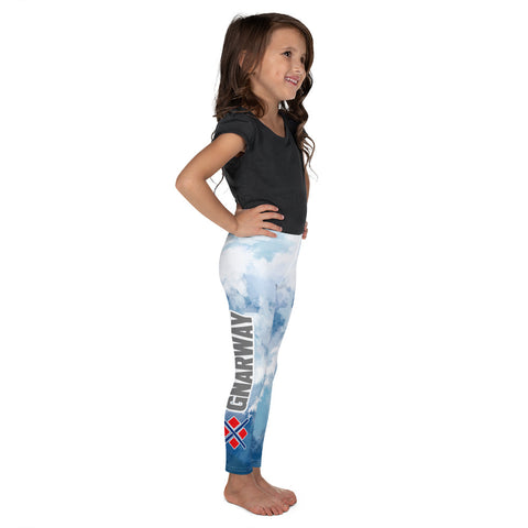Watercolor GNARWAY Kid's Leggings