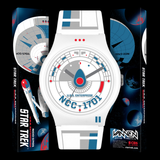 STAR TREK: USS ENTERPRISE WATCH (WHITE)