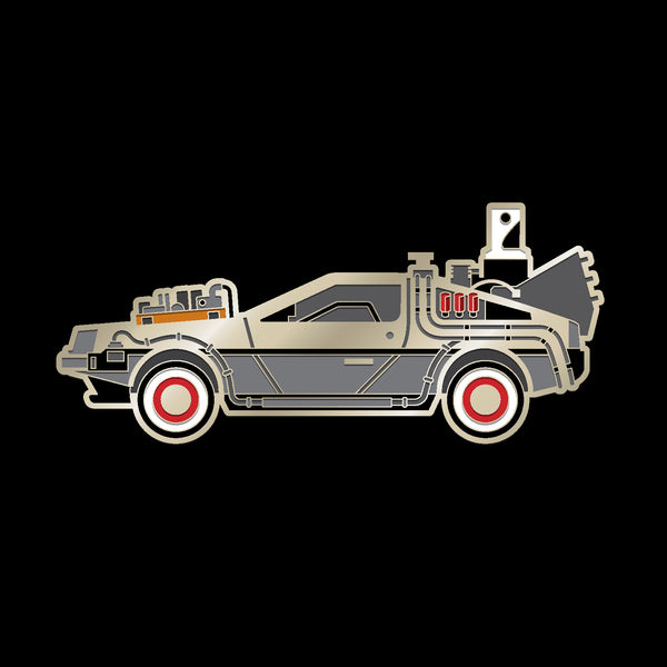 DELOREAN (1885) enamel pin