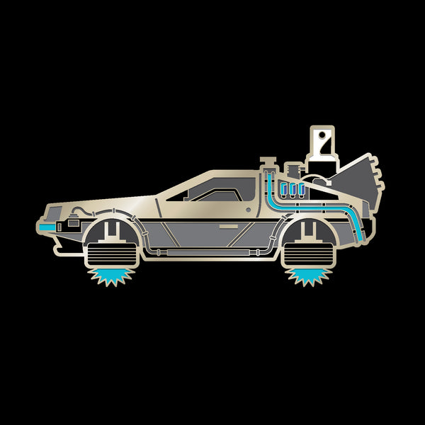 DELOREAN (2015) enamel pin