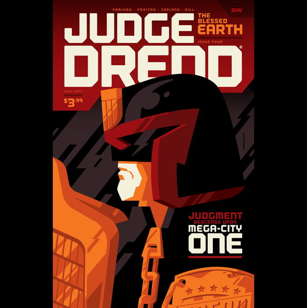 JUDGE DREDD: THE BLESSED EARTH issue #4