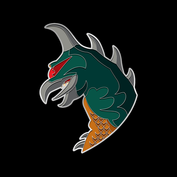 GIGAN enamel pin