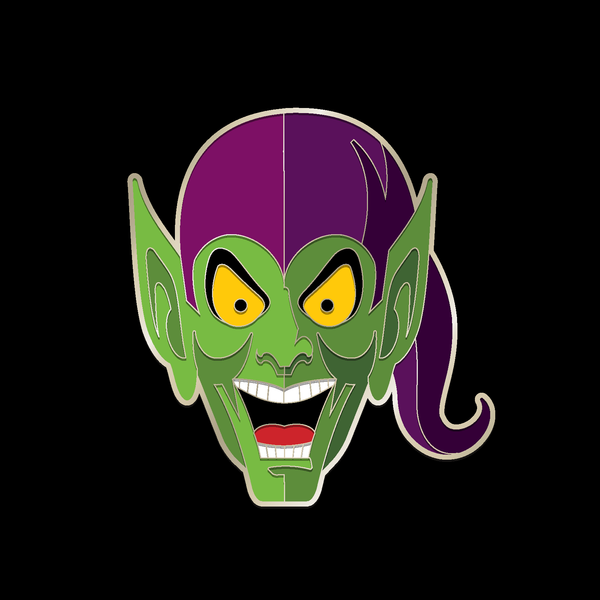 GREEN GOBLIN enamel pin