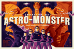 INVASION OF ASTRO-MONSTER regular edition screenprint