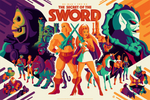 SECRET OF THE SWORD regular edition screenprint