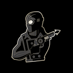 SPIDER-MAN NOIR enamel pin