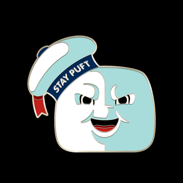 STAY PUFT enamel pin