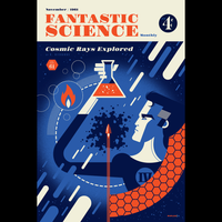 FANTASTIC SCIENCE screenprint