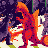 TERROR OF MECHAGODZILLA regular edition screenprint