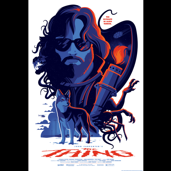 THE THING regular edition screenprint