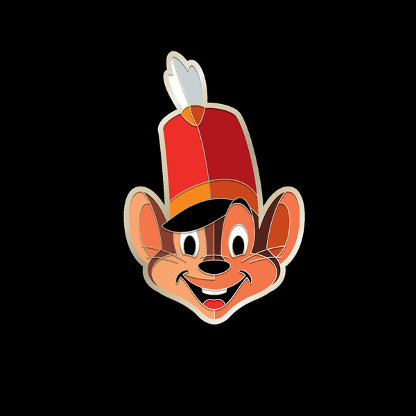 TIMOTHY Q. MOUSE enamel pin
