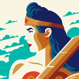 WONDER WOMAN variant edition screenprint