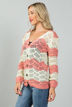Load image into Gallery viewer, Ladies fashion  open knit cardigan