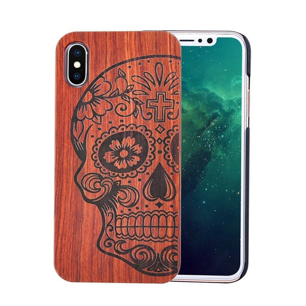 Iphone Engraved Bamboo Cases