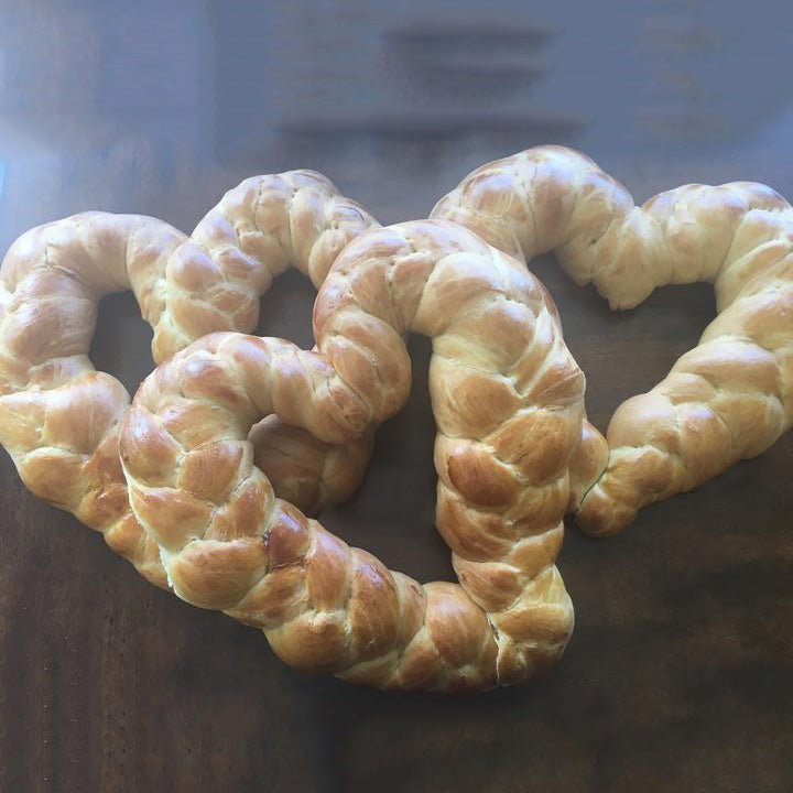 Heart Shaped Challah