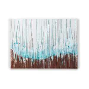 "<strong><span style=""color: #e81c61;"">SOLD</span></strong>  <br>Turquoise Curtain #2"