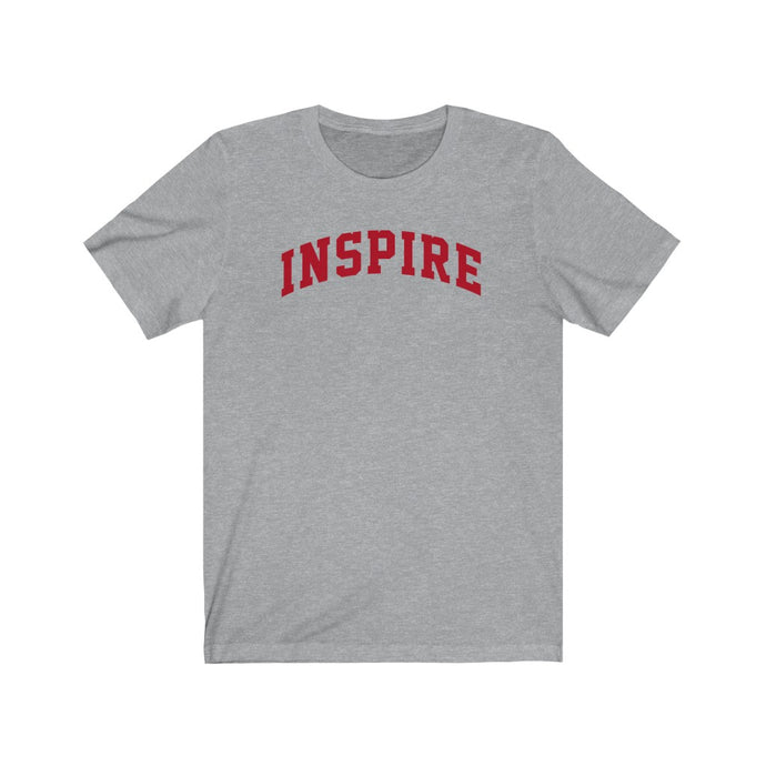 Inspire Red Short Sleeve Tee