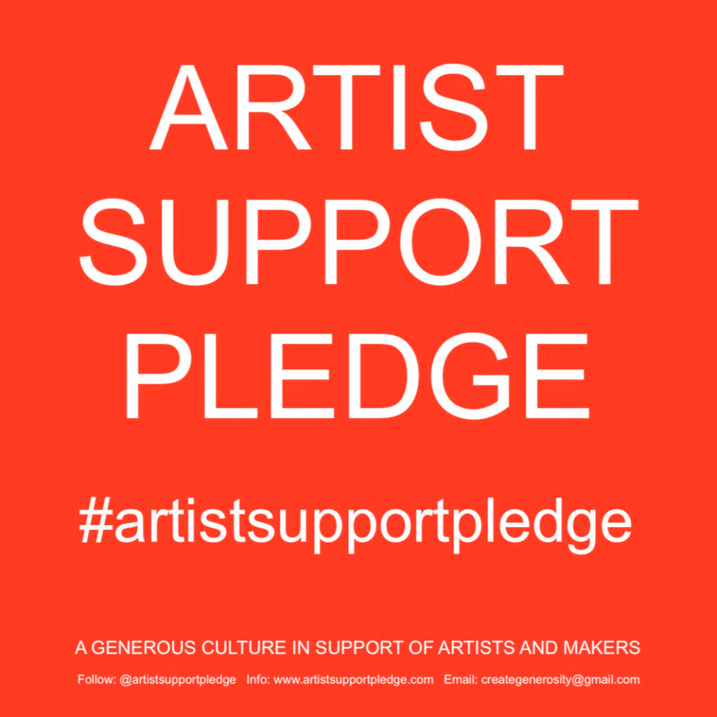Studio Sale in support of the Artist Support Pledge
