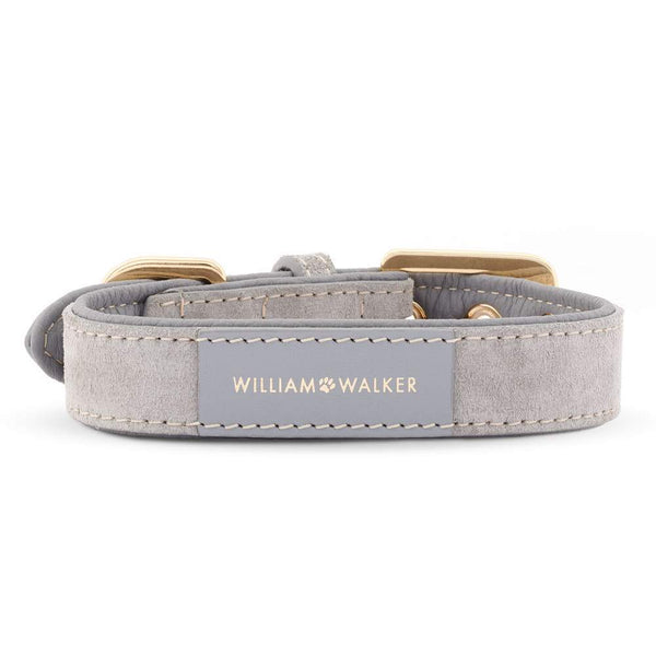 William Walker Leder Hundehalsband Sea Salt