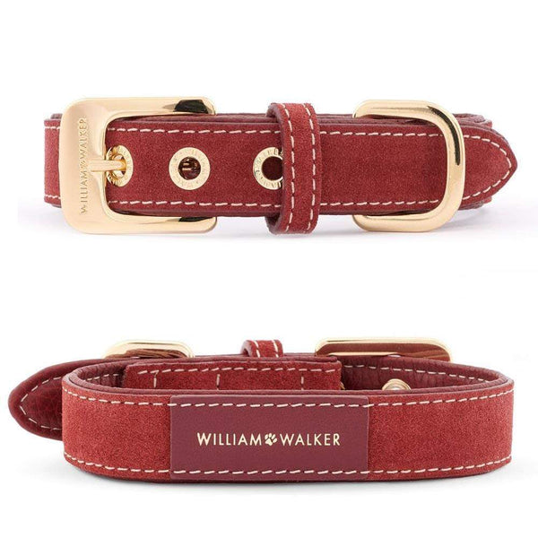 William Walker Lambrusco // Halsband & Leine Set + Kostenloser Kotbeutelspender