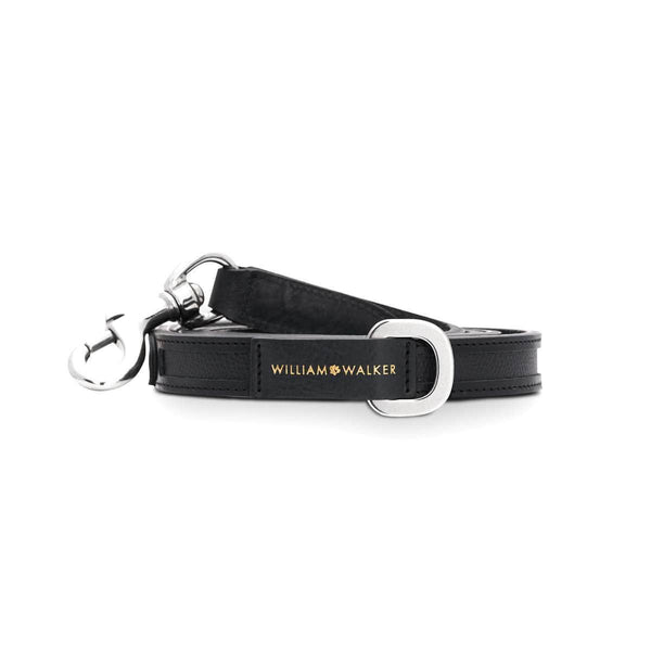 Dog leash Nobile Nero