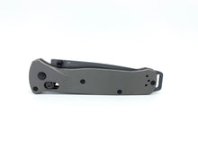 Titanium Scales for Benchmade Bailout 537 - FG - Aluminum Blasted