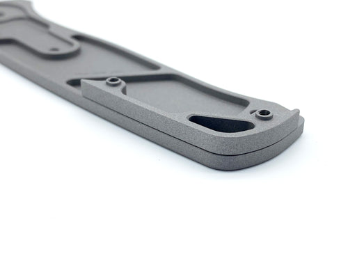 Titanium Flat Backspacer for Benchmade Bailout 537