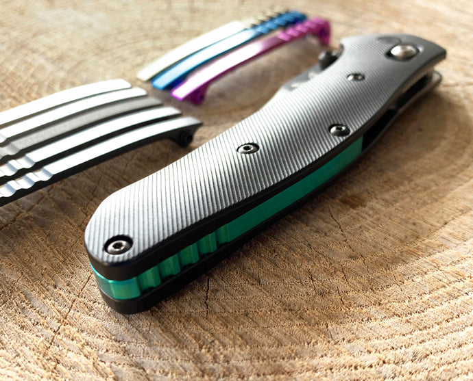 Titanium Backspacer for Benchmade Osborne 940 Series
