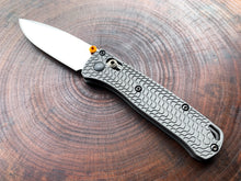 Titanium Critter Scales for Benchmade Mini Bugout 533