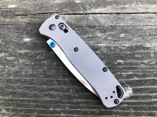 Titanium Scales for Benchmade Bugout 535 - Gray Blasted