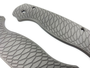 Titanium Scales for Spyderco PM2 Hexi