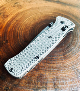 Titanium Critter Scales for Benchmade Bailout 537