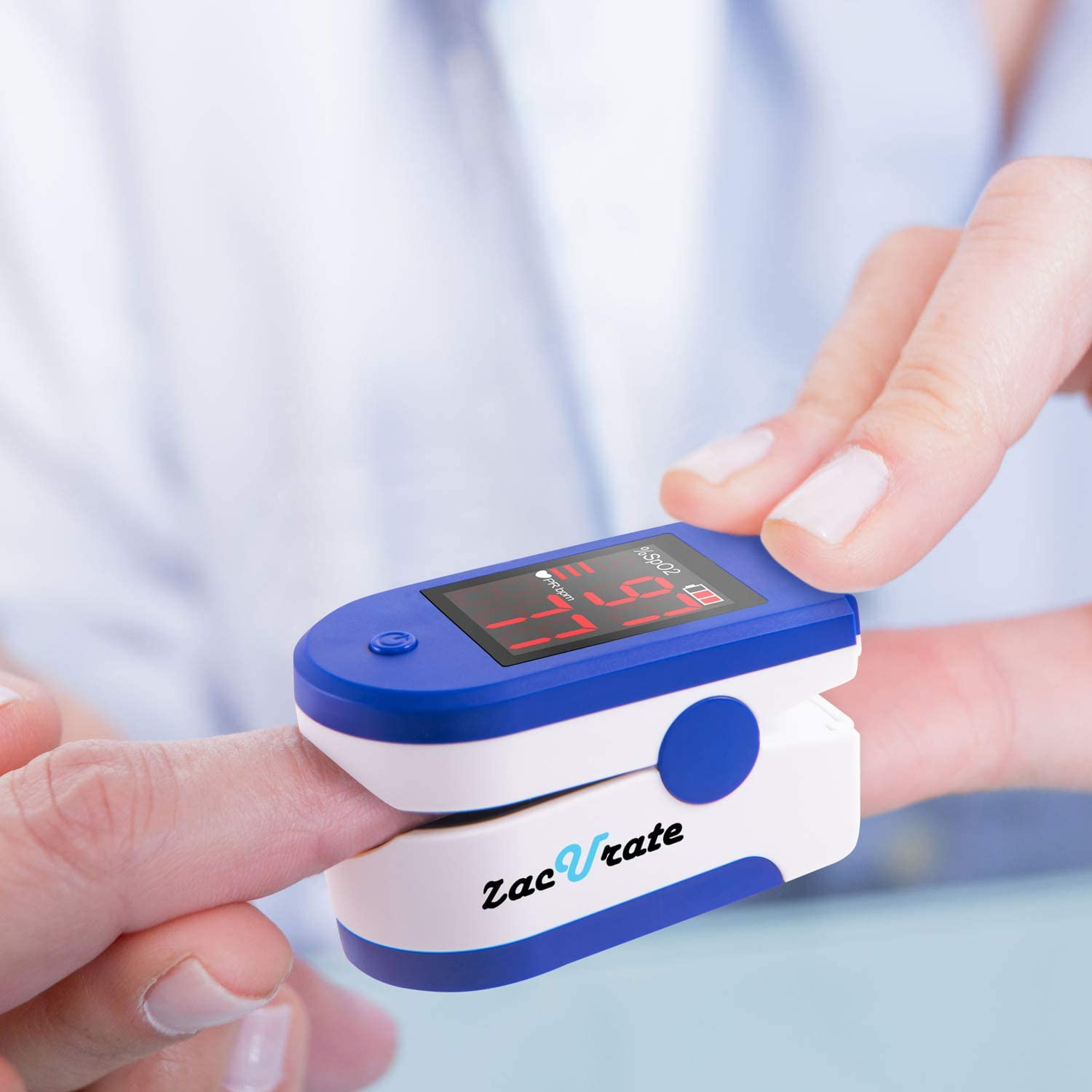 Zacurate 500CL Series Pulse Oximeter