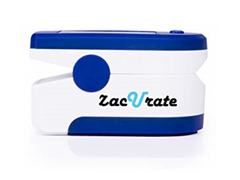 Zacurate Blue Pulse Oximeter ABS Plastic