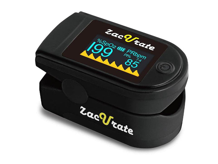 Zacurate Pro Series 500C Deluxe Fingertip Pulse Oximeter
