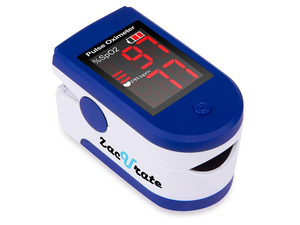 Zacurate Sapphire Blue Fingertip Pulse Oximeter