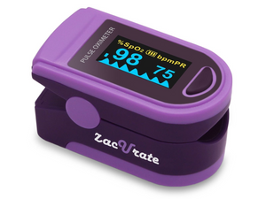Zacurate Pro Series 500D Deluxe Fingertip Pulse Oximeter
