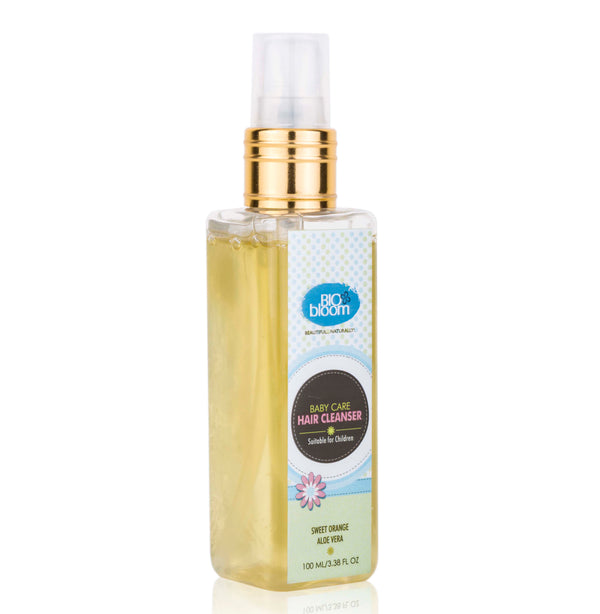 Baby Hair Cleanser - Aloe Vera, Sweet Orange & Olive Oil