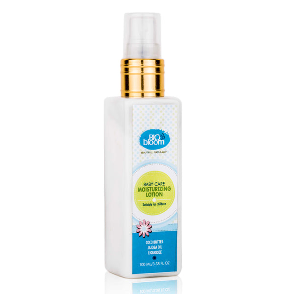 Baby Moisturizing Lotion - Jojoba Oil, Cocoa Butter