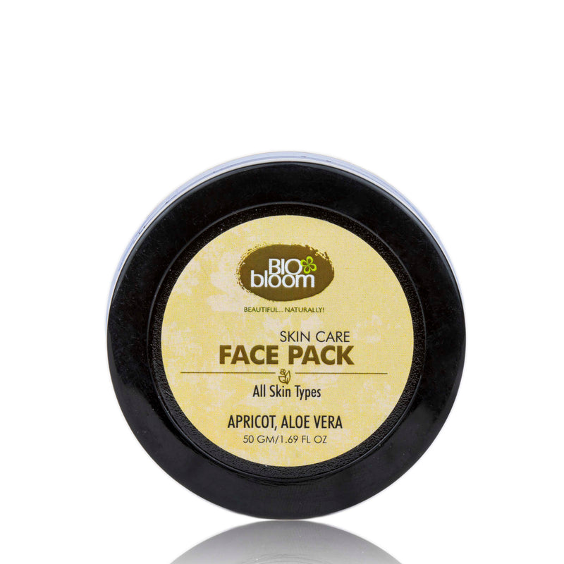 Face Pack (Instant Glow) - Apricot, Aloe Vera