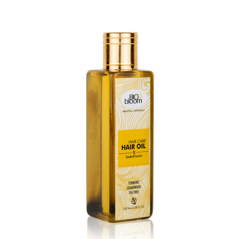 Hair Oil Dandruff Control - Cedar-wood & Tea Tree